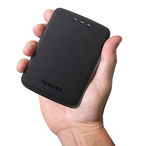 Wireless-Solutions Canvio AeroCast Wireless HDD HDTU110XKWC1
